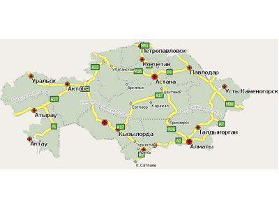 Програмку навигатор по казахстану