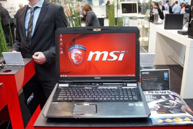 Cebit 2014 мощные игровые ноутбуки msi gt70